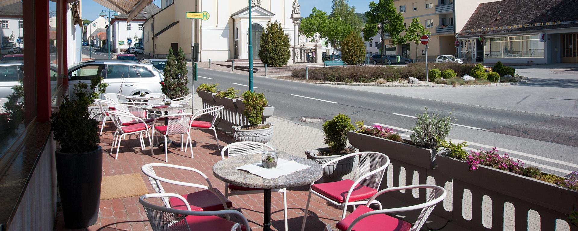Caffeehaus Freingruber - Terrasse