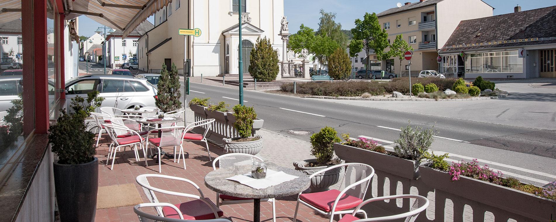 Café & Zimmer am Hauptplatz in Rechnitz